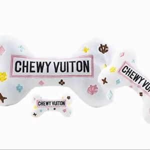 Large White Chewy Vuiton Bones
